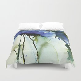 Blue passion Duvet Cover