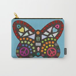 Peace mosaic butterfly Carry-All Pouch