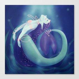 Pearl Mermaid Canvas Print