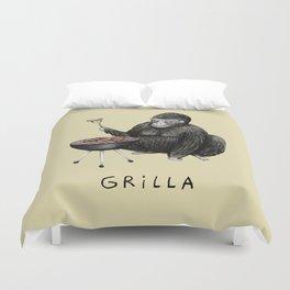Grilla Duvet Cover