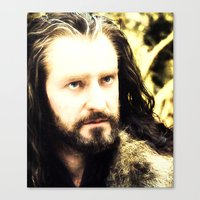 thorin Canvas Prints featuring Thorin by Jetachi