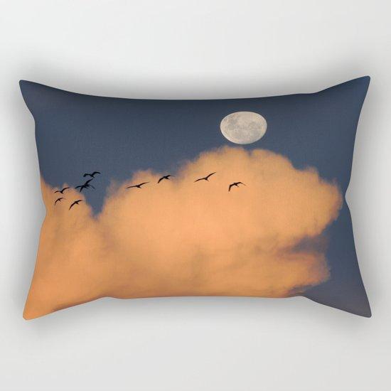 Moon cloud sky 7 Rectangular Pillow