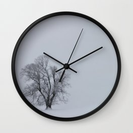 Blizzard Wall Clock
