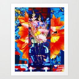 PRIMAVERA STUDY 109 (SPRING FLOWERS) Art Print