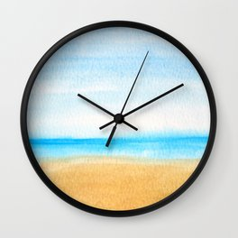 Just the Ocean and I Wall Clock