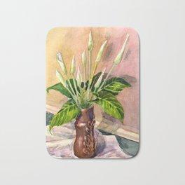 Calla lilies Bath Mat