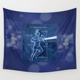 Full Armor of God - Warrior 3 Wall Tapestry