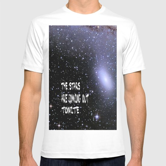 the stars are coming out tonite  U.S. T-shirt