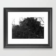 Overgrown Framed Art Print
