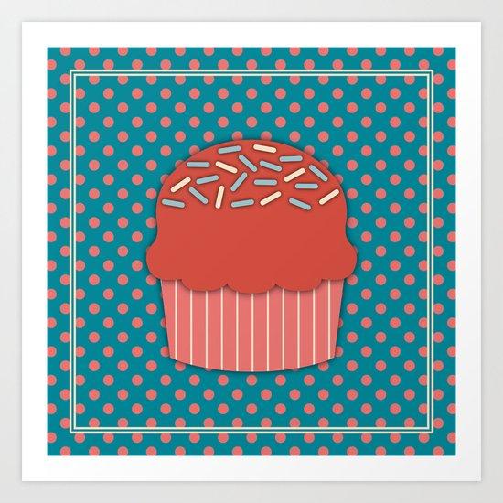 Cupcake 3 Art Print
