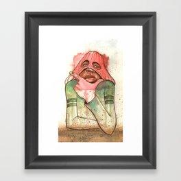 HEY HEY HEY Framed Art Print