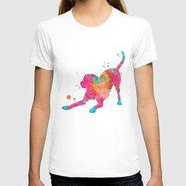 Colorful Playful Labrador T-shirt