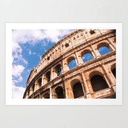 The Colosseum in Rome Italy Art Print