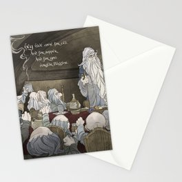 They've come for tea, & for supper, & for you Stationery Cards