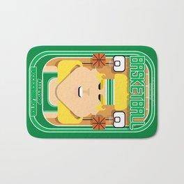 Basketball Green - Alleyoop Buzzerbeater - Hazel version Bath Mat