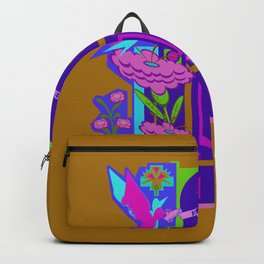Temple of Flowers Backpack