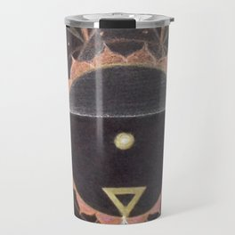 Saraswati Mandala White Travel Mug