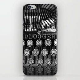 I'm a Blogger iPhone Skin
