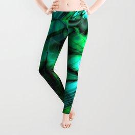 Organic Thought (emerald) Leggings