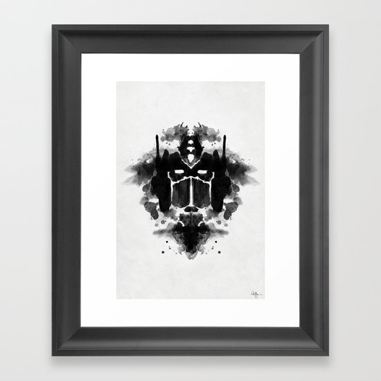 Optimust Framed Art Print