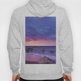 Ocean Beach Dusk Sunset Photography Hoody