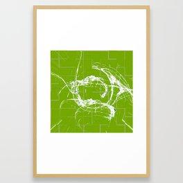 Original Abstract Duvet Covers by Mackin Framed Art Print