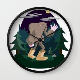 The Legendary Bagfoot Wall Clock