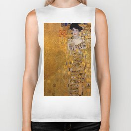 THE LADY IN GOLD - GUSTAV KLIMT Biker Tank