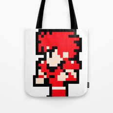 Young Fighter - Final Fantasy Tote Bag