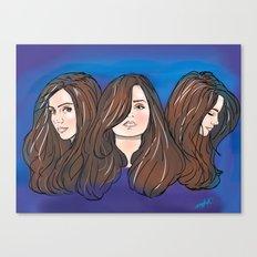Jenna Louise Coleman Canvas Print