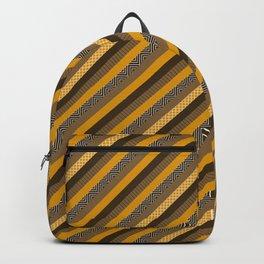 Geometric Azteca Pattern Backpack
