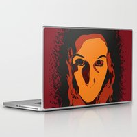 rocky horror Laptop & iPad Skins featuring Horror by Square Lemon