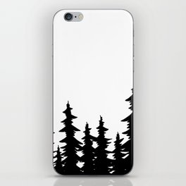 Forest Tree Line iPhone Skin