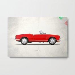 Alfa Giulia 1964 Metal Print