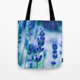 A Touch of blue - Lavender #1 Tote Bag