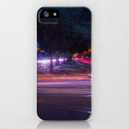 Luces en la ciudad iPhone Case
