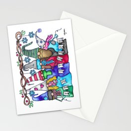 Let It S-Gnomies Stationery Cards