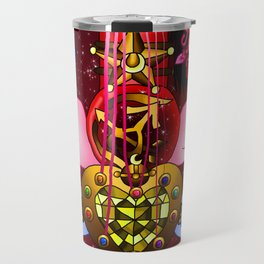 Fusion Sailor Moon Guitar #4 - Sailor Moon & Sailor Mars Travel Mug