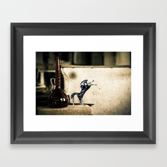 Horse of Glass, Italy Framed Art Print