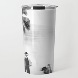 The Horse You Rode In On Travel Mug