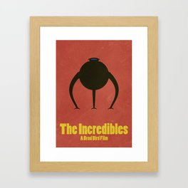 The Incredibles Framed Art Print
