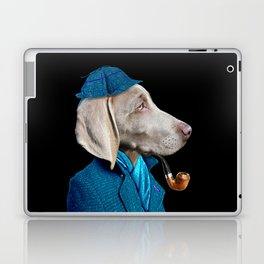 Dog Sherlock Holmes Laptop & iPad Skin