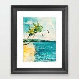 Palm Trees 1 Framed Art Print