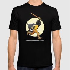 Darth Harry Black Mens Fitted Tee LARGE