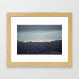 Sun Break Framed Art Print