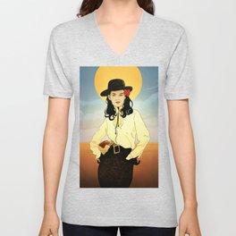 Cowgirl I Love You Unisex V-Neck