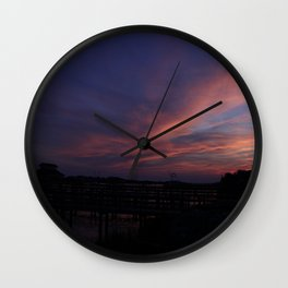 Holden Sunset Wall Clock