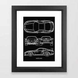 Supra Mk 4 Framed Art Print