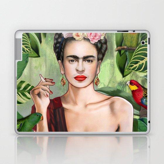 Frida con Amigos Laptop & iPad Skin