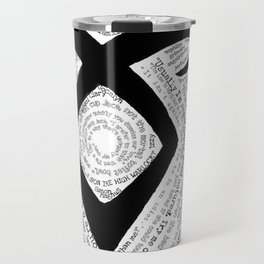 Shadowhunters QuoteRune Travel Mug